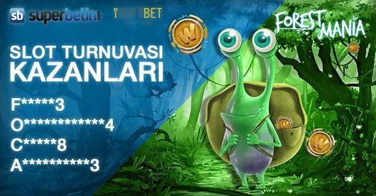 Superbetin'de #Slot Turnuvası Kazananlarımız #Nakit Ödüllerini Aldılar!  Üyelerimizi #Tebrik Ederiz  #Superbetin #Casino Farkı  F*****3  o************4  C*****8  A**********3  Bir sonraki Slot Turnuvasında kazananlardan biri de siz olun!  #win #won #Superbetin #Superbetin12 #Forest #Mania #winner #kazanan #nakit #ödül #kazandılar #enjoy #joy #crazy #casino