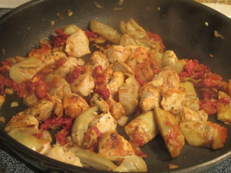 Sun-dried tomato artichoke chicken | Favorite Recipes | Pinterest