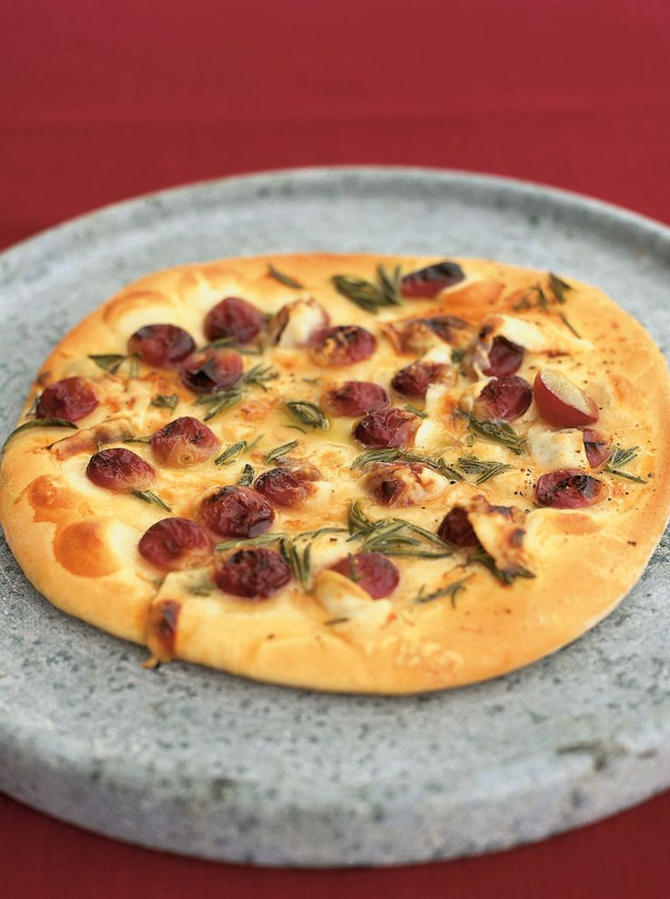 red grape pizza with honey, rosemary & pecorino | Jamie Oliver | Food | Jamie Oliver (UK)