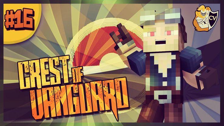 Minecraft  Crest Of Vanguard  POKÉMON PRANK!