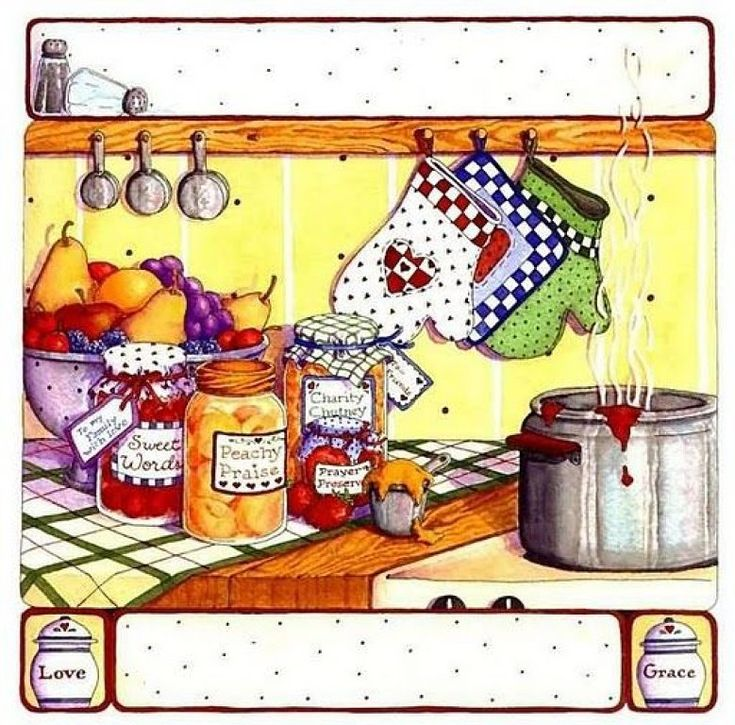 Kitchen Art 88: CLIPART Images On