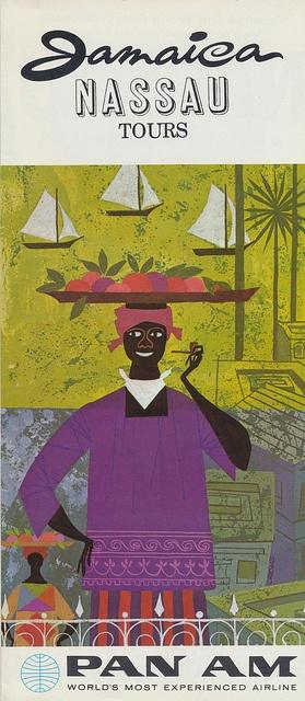 Jamaican tourism poster.