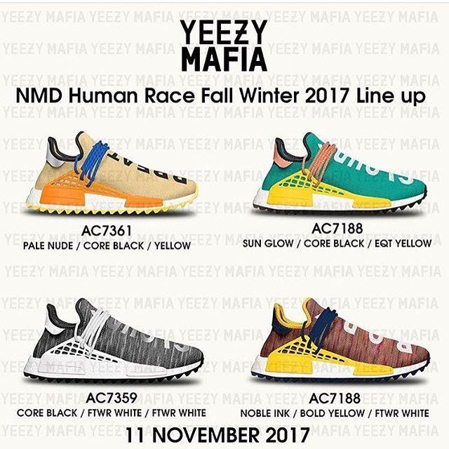 Line Up Human Race 11th Novembre 2017