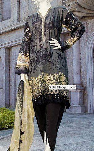 5c37c5f81c Dark Grey Lawn Suit | Buy Junaid Jamshed Pakistani Dresses and Clothing  online in USA, UK