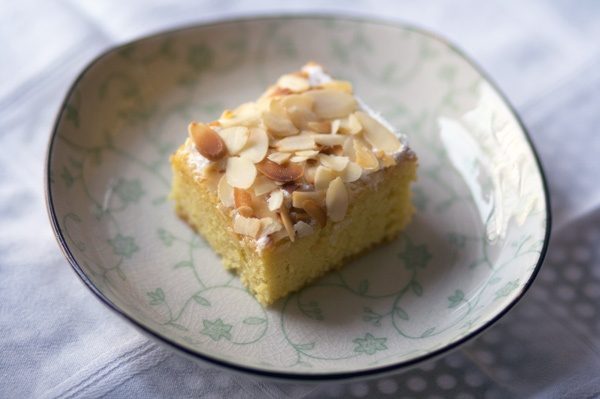 Almond flour cake for Passover. Special Italian and Libyan dessert for Pesach.