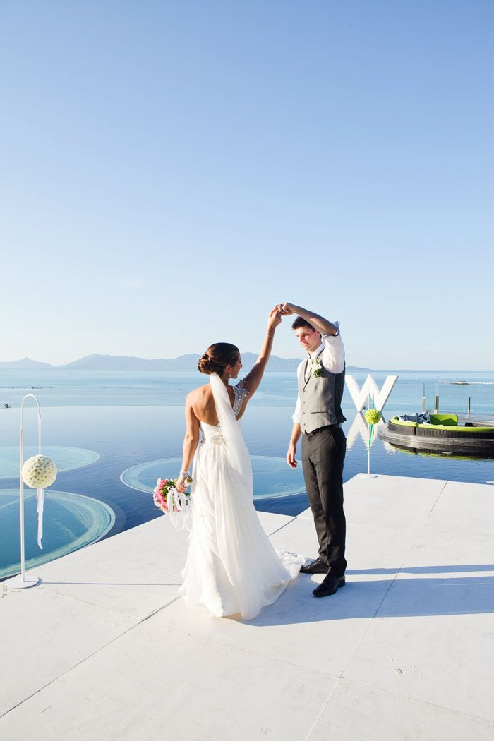 a destination wedding in thailand at the w retreat koh samui