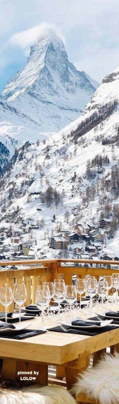 Winter Chalet - Chalet Les Anges...Zermatt- LadyLuxuryDesigns