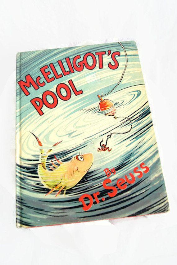 McElligot's Pool by Dr. Seuss Random House New York 1947 Hardcover by ANTIGOs on Etsy