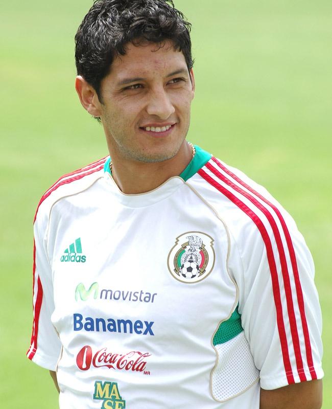 Angel Reyna en entrenamiento con la Selección Nacional