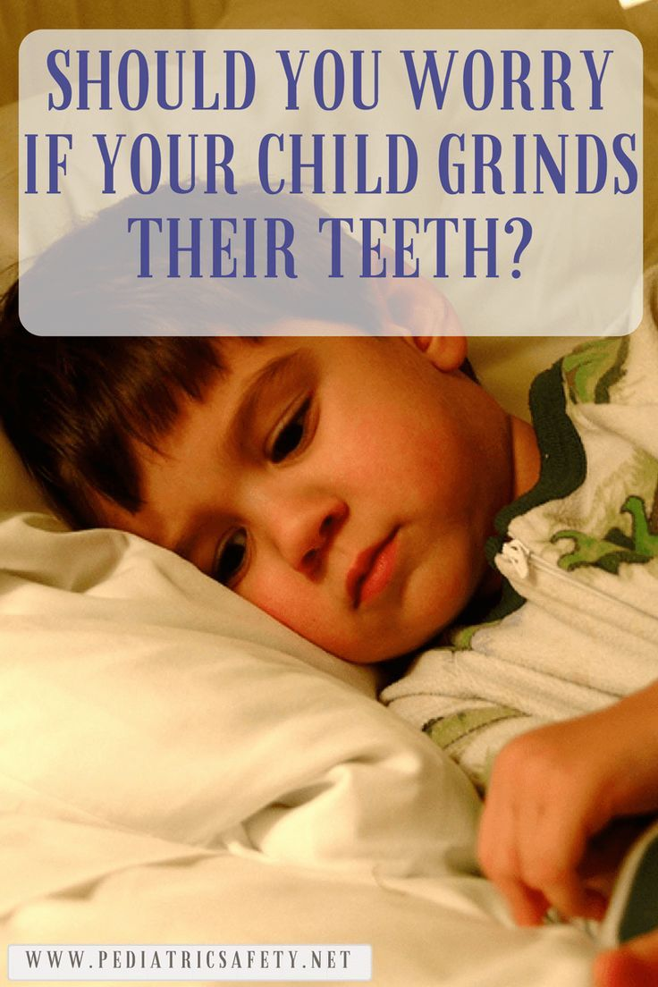 Should You Worry If Your Child Grinds Their Teeth?  Teeth grinding, or bruxism, is more common in children than most parents realize. If your child is grinding their teeth, should you do anything about it? Find out here...