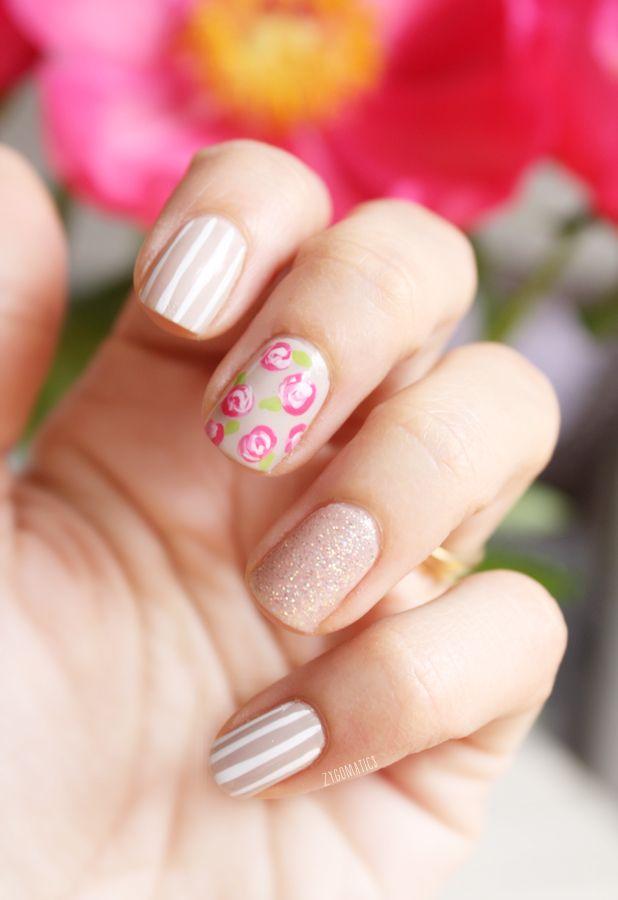 Mix and Match - rosa, nude e branco