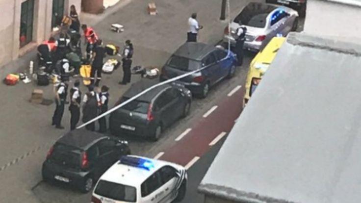 Un yihadista somalí ataca con un machete a dos soldados en Bruselas al grito de Alá es grande!