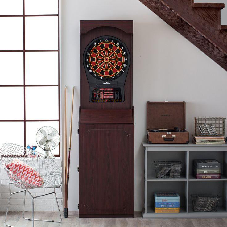 Arachnid CricketPro 800 Arcade Electronic Dart Board Complete Set | from hayneedle.com