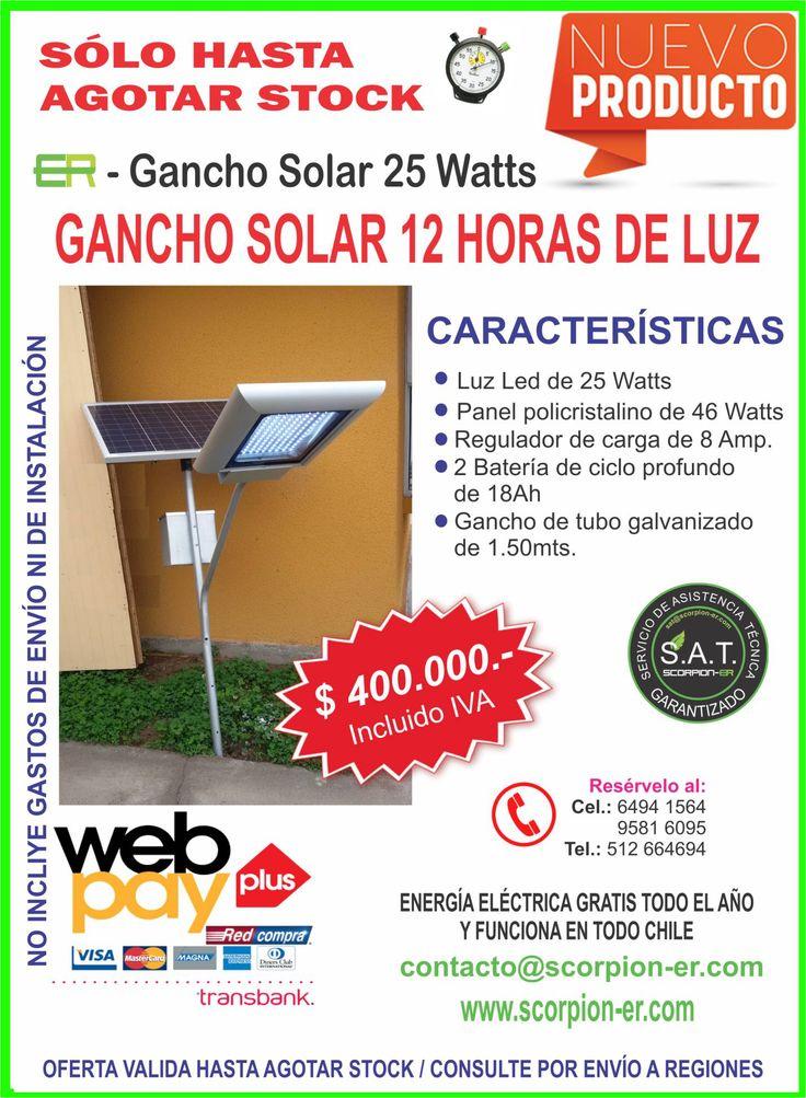 Gancho 25 Watts