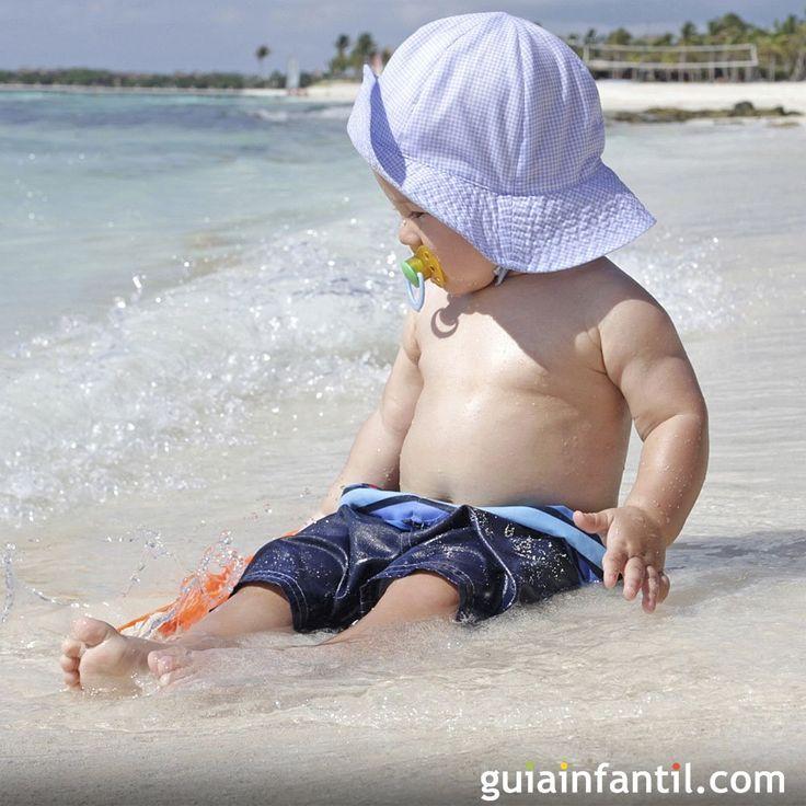 O bebê e o sol. Conselhos sobre a partir de que idade o bebê pode tomar sol. A partir que idade o bebê pode tomar sol? Qual o melhor horário? Qual o melhor filtro solar para os bebês?