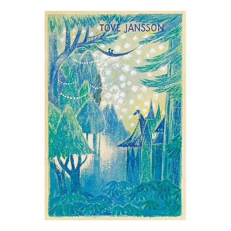 Posters - Moomin Poster - Draft Of Tales From Moominvalley