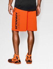 Men's Orange Shorts   Under Armour US