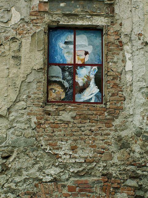 Van Gogh self portraits #Bratislava (Unknown)