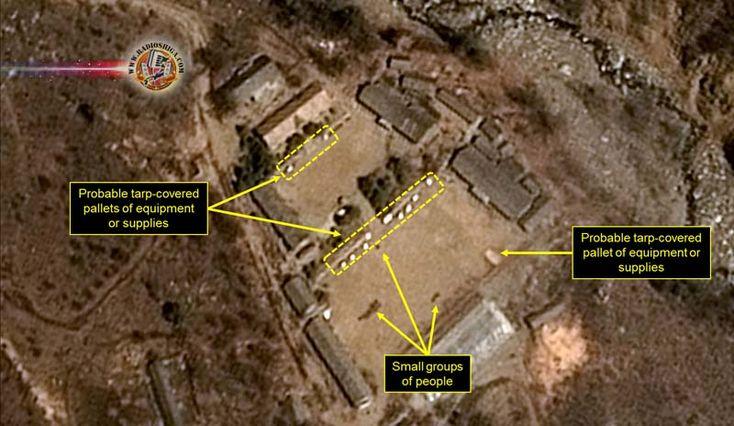 Observada movimentação no local de testes nucleares da Coreia do Norte. Pesquisadores dos EUA afirmam que novas imagens de satélite mostram atividades contí