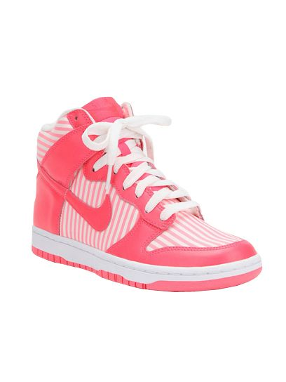 Nike Striped Dunk High Sneaker: 25 High Top Sneakers For Summer: Style:  teenvogue