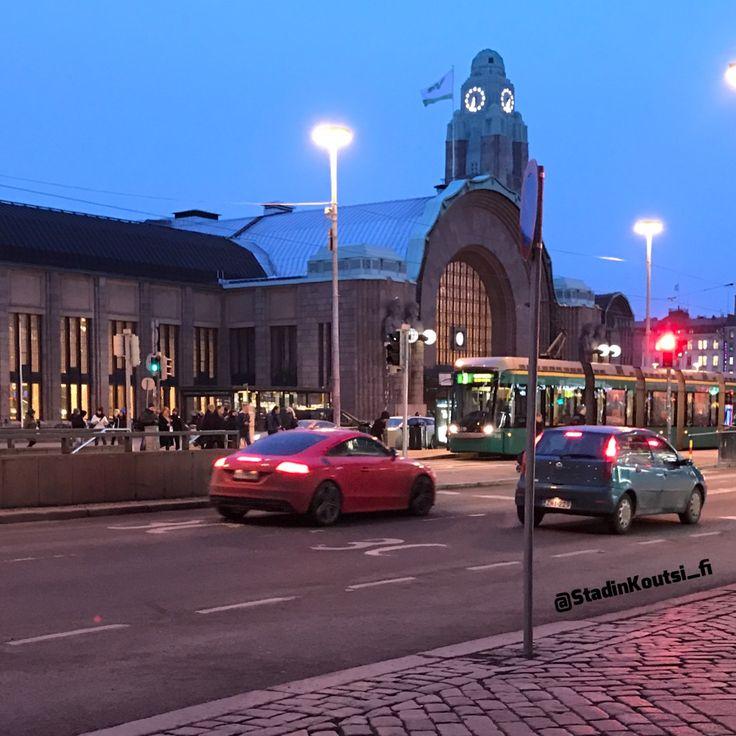Helsinki at night
