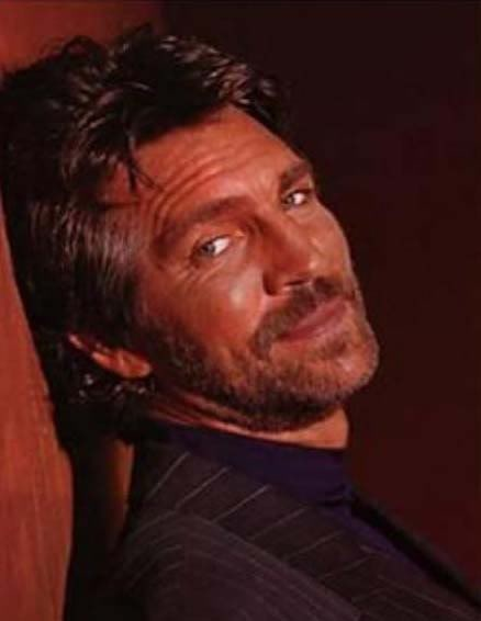 Eric Roberts, inspiration for Lucifer in Raging Fire by Elaine Calloway