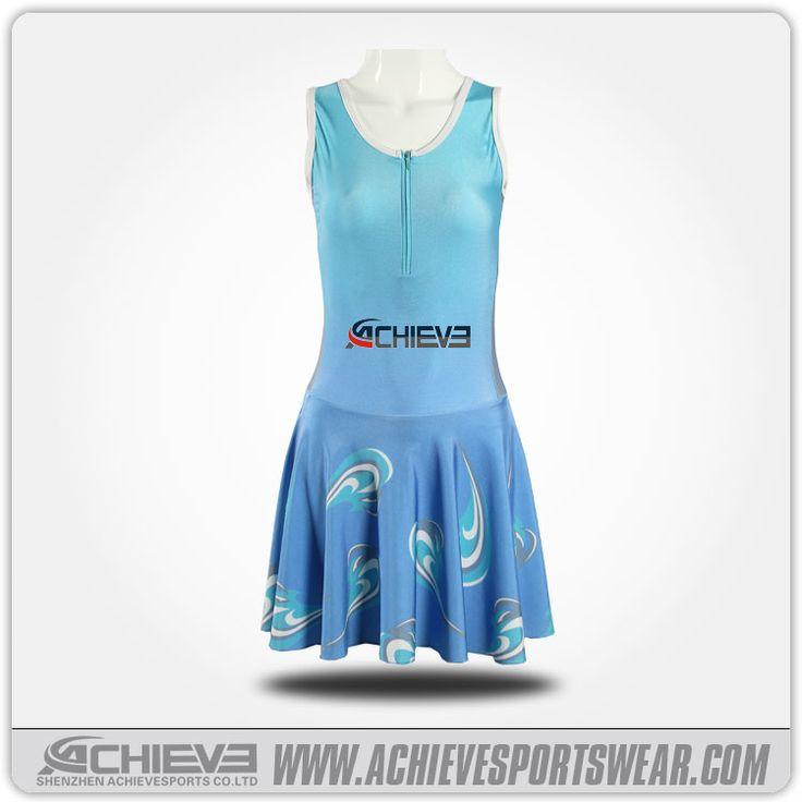 sublimated netball dress