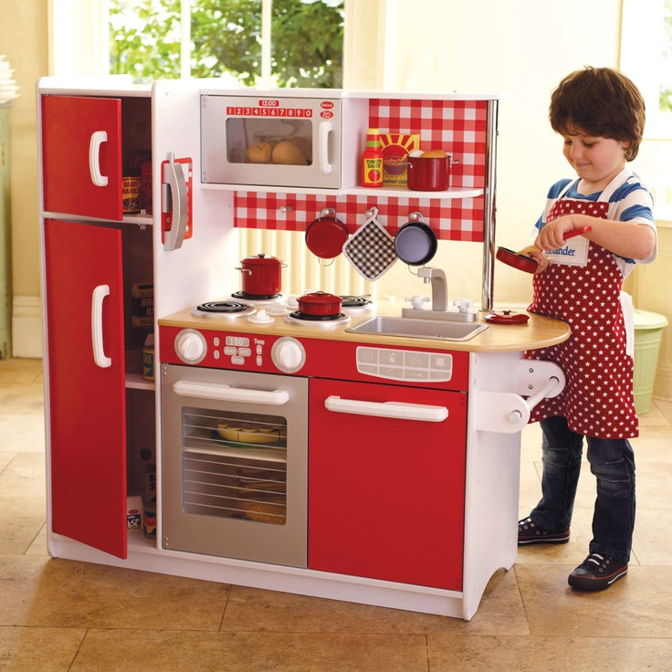 Super Chef Play Kitchen The Toy Kitchen That Has Everything In A Contemporary Unisex