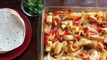 Easy Oven-Baked Chicken Fajitas