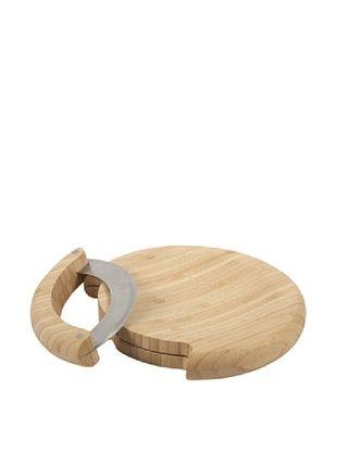 Core Bamboo Mezzaluna Mincing Set