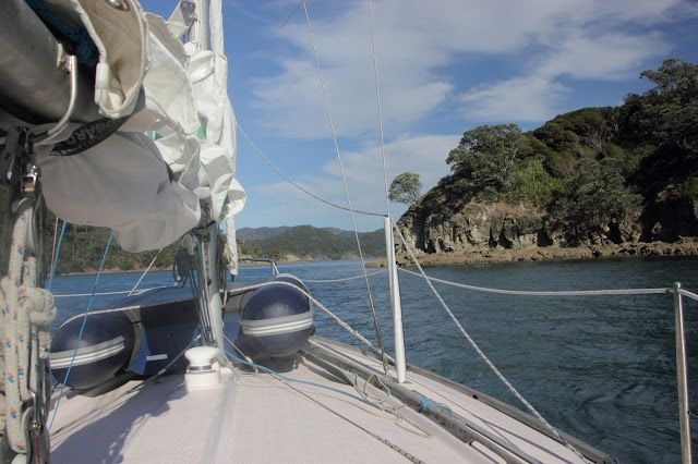 We first started cruising in the Hauraki Gulf during the summer of 2012/13. So many amazing places to see!