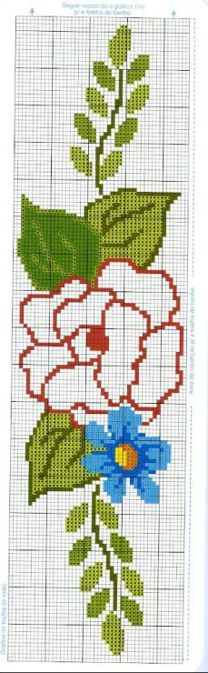 Rose cross stitch pattern  #Easy#cross#stith#pattern