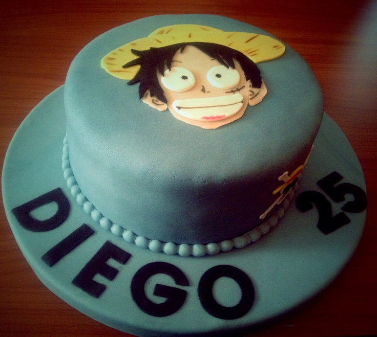 11 Best Gteau One Pice Luffy Images On Pinterest Birthdays