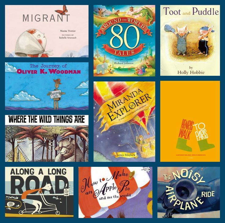 Ten Favorite Children's Travel Books- Amelie's bookshelf
