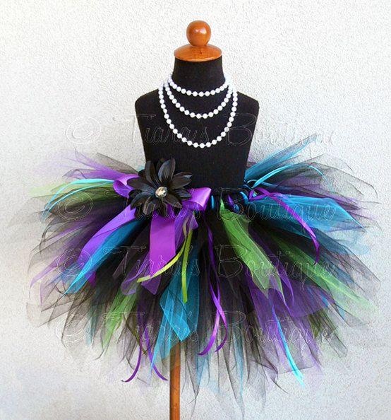 Hey, I found this really awesome Etsy listing at https://www.etsy.com/listing/121545175/birthday-tutu-black-blue-purple-green