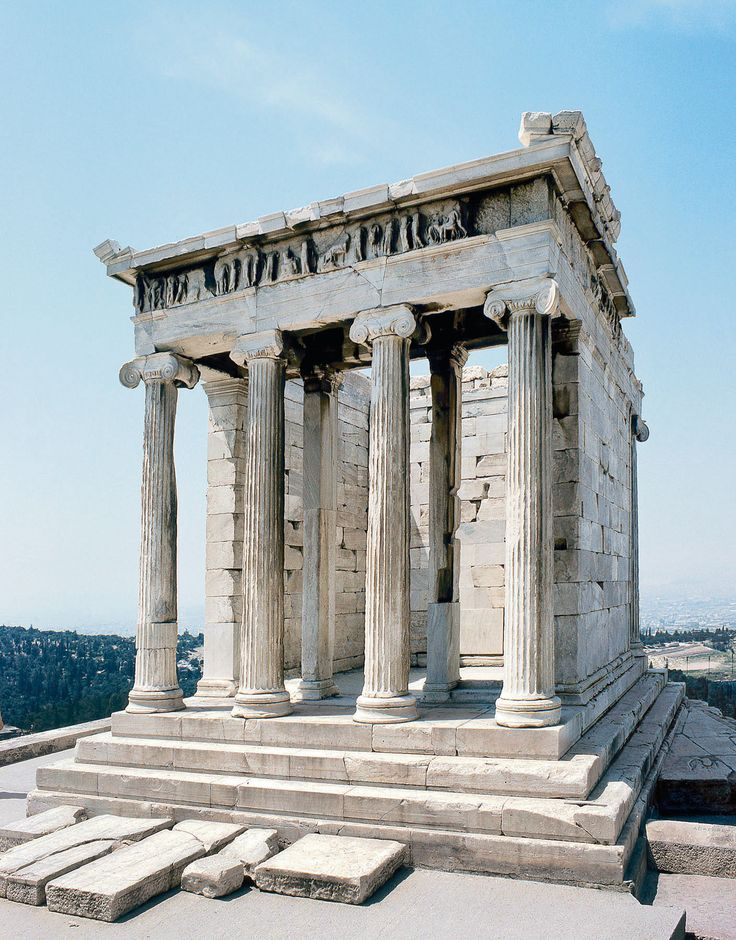 Athena Nike Temple - on the Acropolis - Athens 427-424 BC