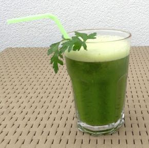 Pij soki wyciskane: Green power