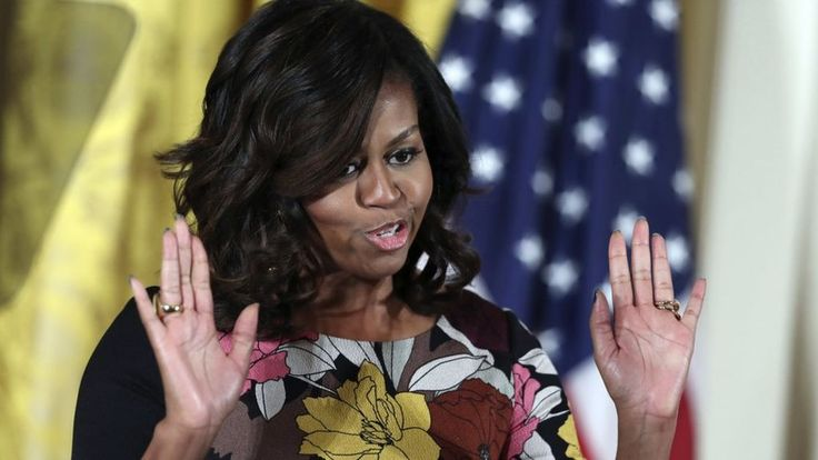 A racist Facebook post about Michelle Obama causes controversy in the US state of West Virginia.