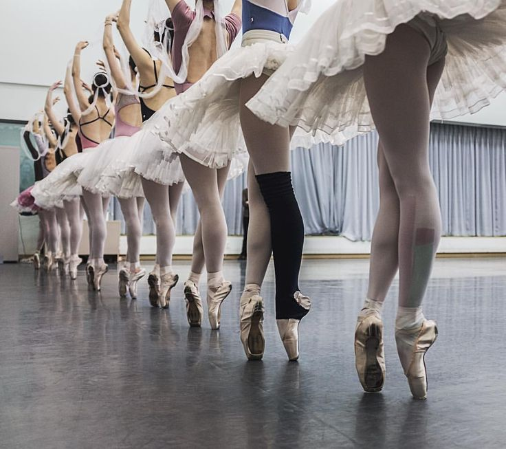 """Ladies of the corps de ballet rehearsing the famous """"Kingdom of the Shades"""" scene from """"La Bayadere""""........................................................................................................................................................................  https://www.instagram.com/p/BC78LqHIoLZ/"""