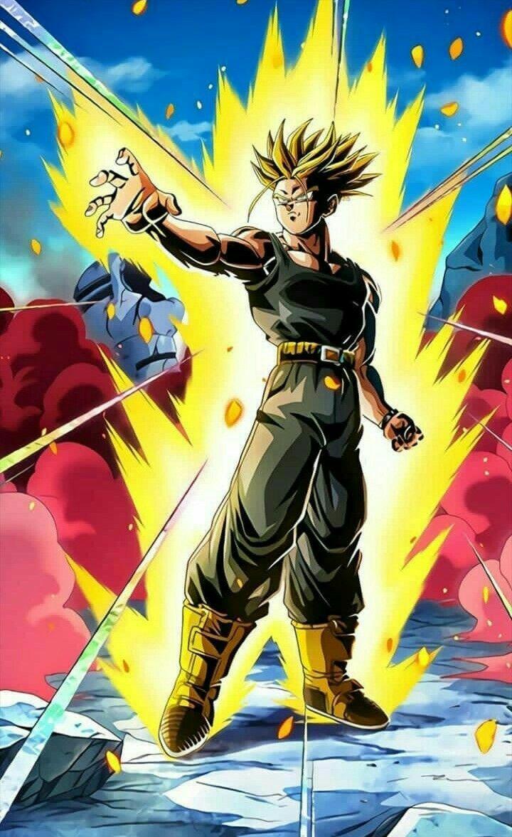 Super Saiyan Trunks Anime Dragon Ball Super Anime Dragon Ball Dragon Ball Z