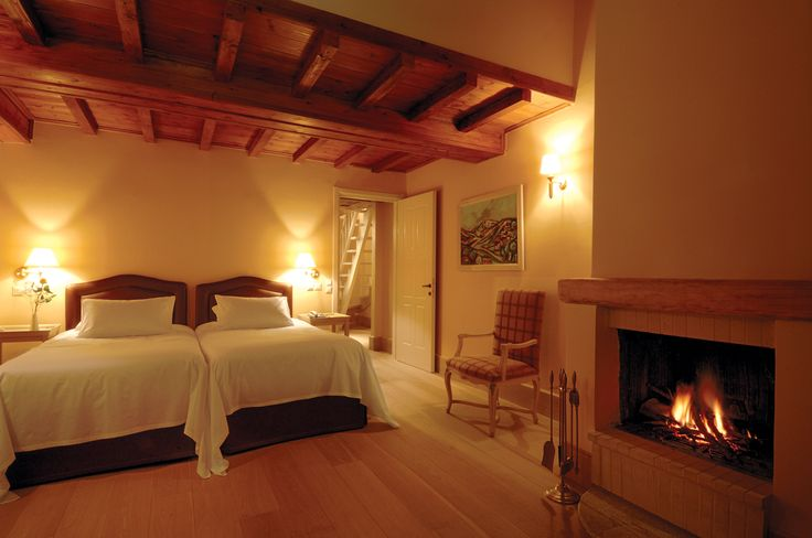 Choose one of the 20 luxurious suites or the one and only villa of Santa Marina Arachova Resort & Spa. http://www.tresorhotels.com/en/hotels/48/santa-marina-arachova-resort?p=rooms#content