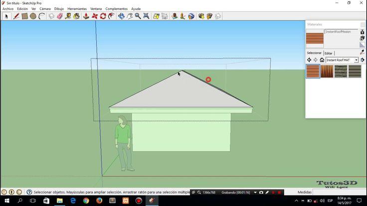 Cómo descargar e instalar instant roof más sketchup Pro 8 full