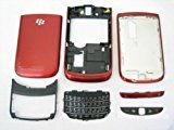 Blackberry Torch 9800 - Original Red Housing Cover Door Case Frame Fascia Plate - Mobile Phone Repair Parts Replacement
