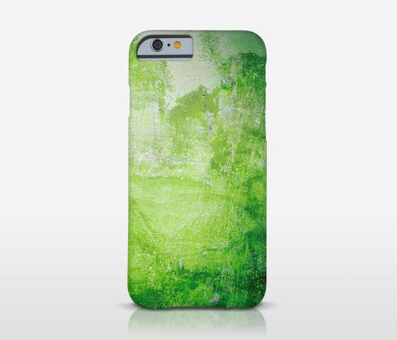 Green Texture Abstract Phone Case, Abstract Art, Photo Printed, Xperia Z1 Case, iPhone 6 Case, Galaxy S3, HTC, Moto X Case