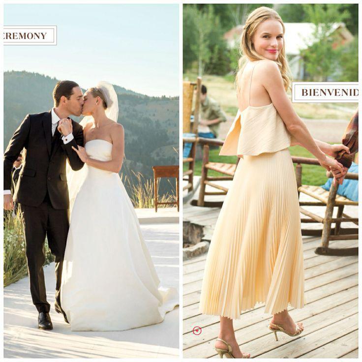 7 best Oscar de la Renta Real Weddings images on Pinterest | Bridal ...