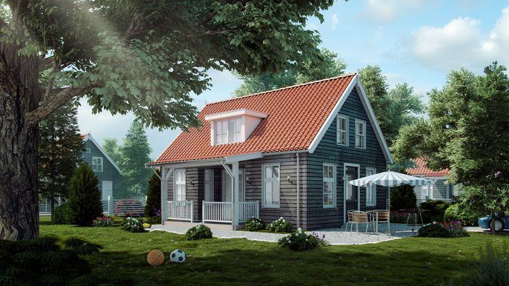 Landelijke woning - buitenhuis villabouw