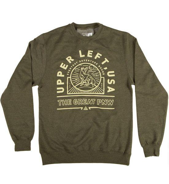 Society Original Products Sweatshirt Society Station Crewneck Heather Grey