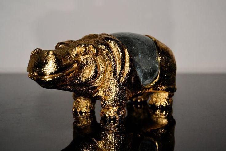 1970S Gabriella Crespi Hippopotamus image 2