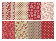 Quiltstof assortie Petites Maisons by French General