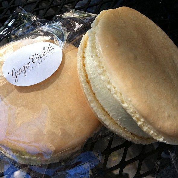 Ice Cream Sandwich @ Ginger Elizabeth Chocolates Sacramento Desserts